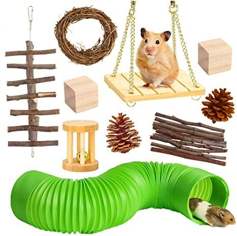accesorios para hamster